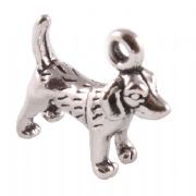 Beagle Dog 3D Sterling Silver Charms